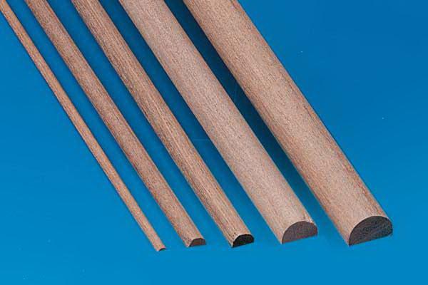 Halbrundstab Holz 2x4 Mm Halbrundstab Holz Holzstabe Und Leisten Holz Werkstoffe Halbzeug Profile