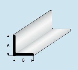 Kunststoff Asa Winkel Profil 5 0mm X 5 0mm X 1000mm Winkelprofil