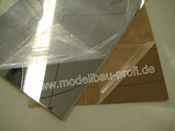 polystyrol silberfarbig spiegelnd beschichtet 2x196x320mm. Black Bedroom Furniture Sets. Home Design Ideas