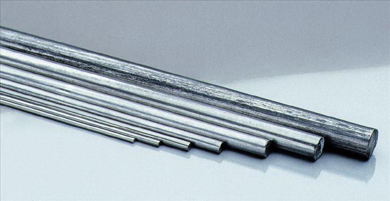 Federstahldraht gehärtet 1 Meter lang zwischen 0,3mm - 12mm für ...